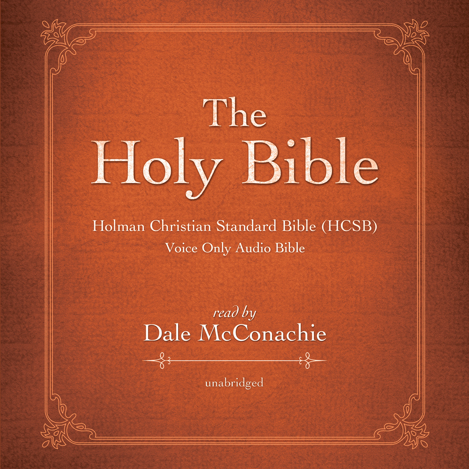 Printable The Holy Bible: Holman Christian Standard Bible (HCSB) Audiobook Cover Art