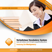 Verbalicious Vocabulary System: Speak with Confidence with 750 English Language Vocabulary Words Audiobook, by Liv Montgomery