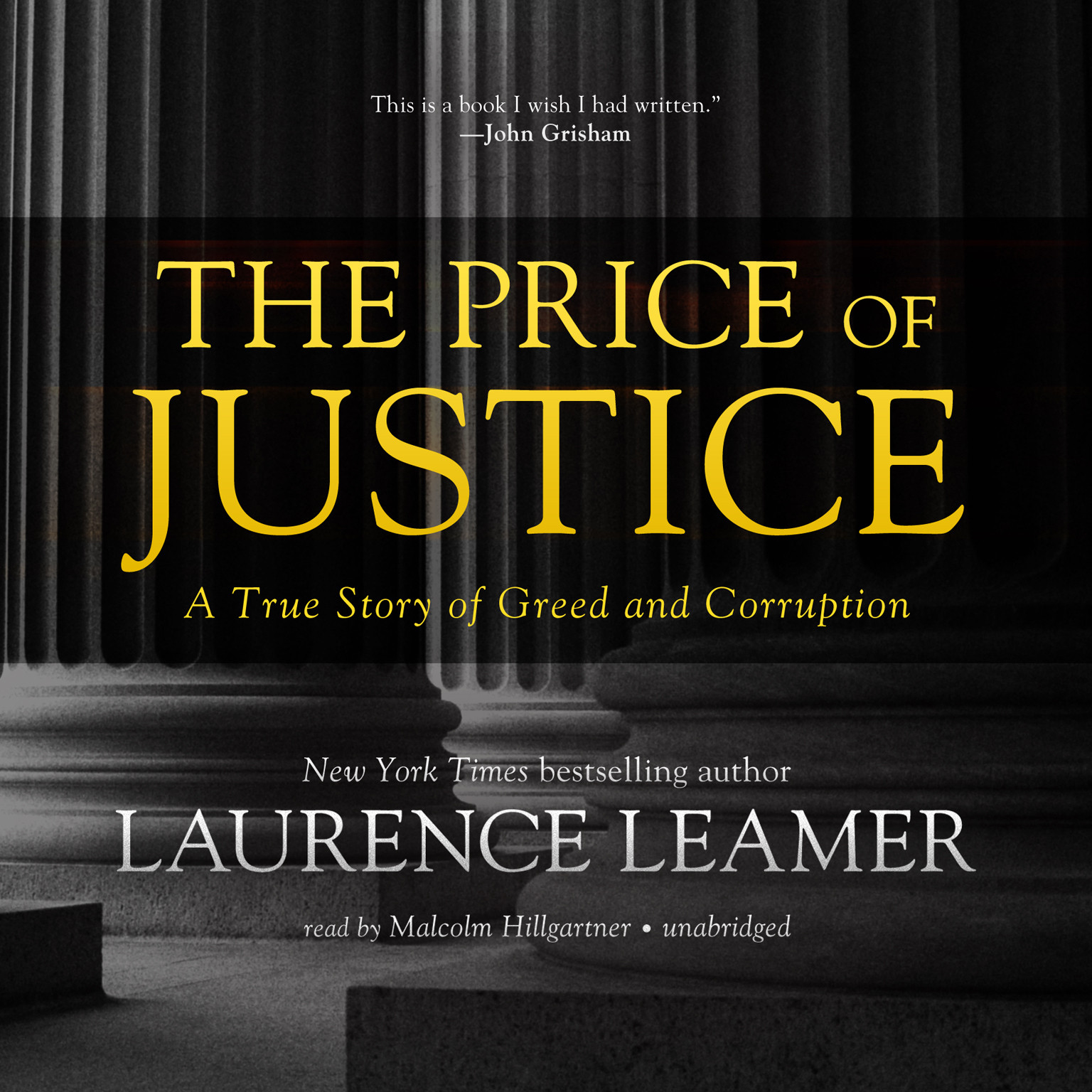Printable The Price of Justice: A True Story of Greed and Corruption Audiobook Cover Art