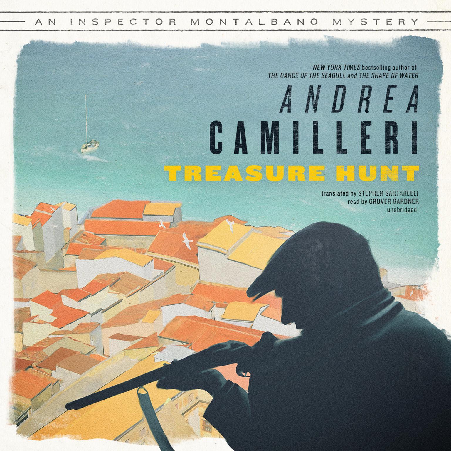 Printable Treasure Hunt Audiobook Cover Art