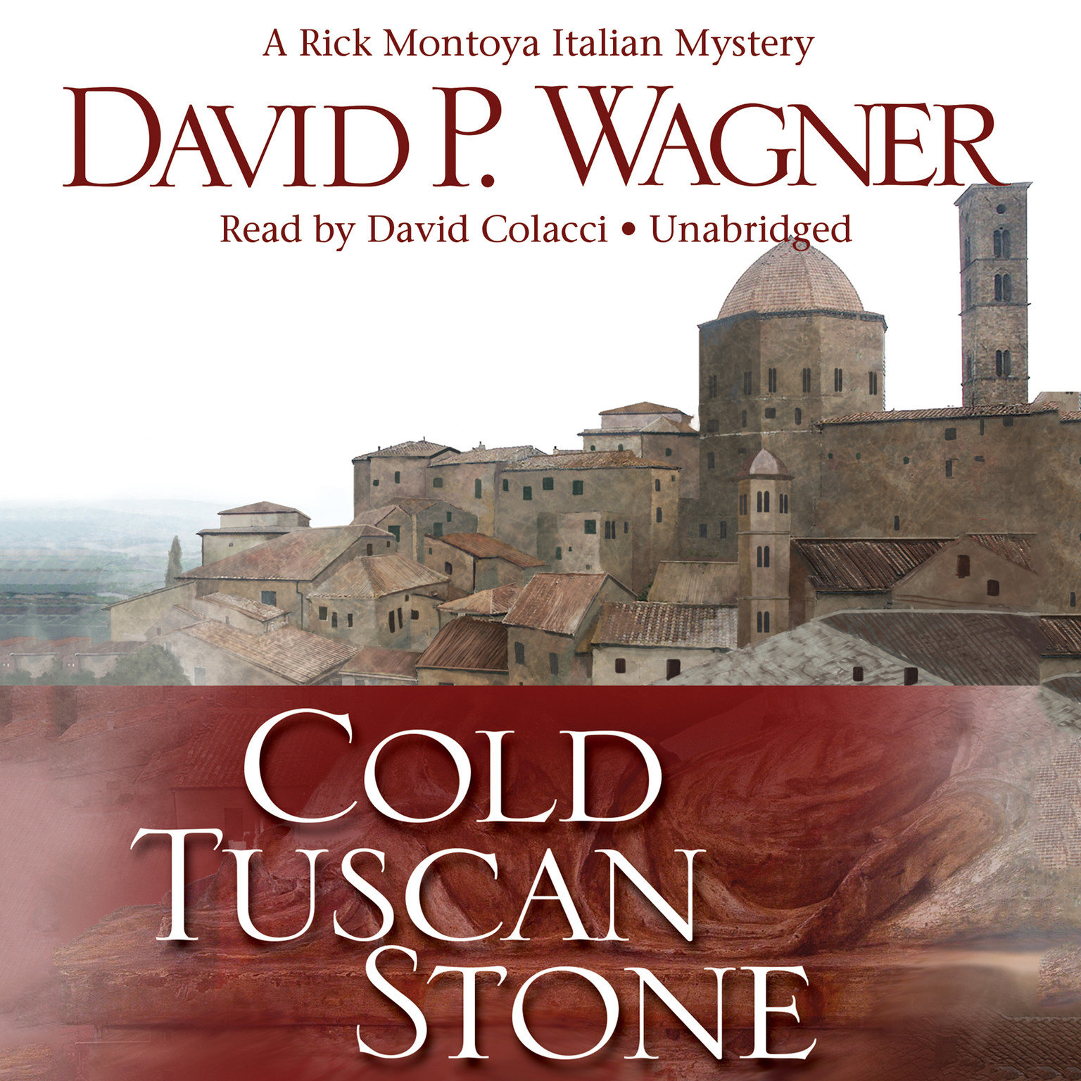 Printable Cold Tuscan Stone: A Rick Montoya Italian Mystery Audiobook Cover Art