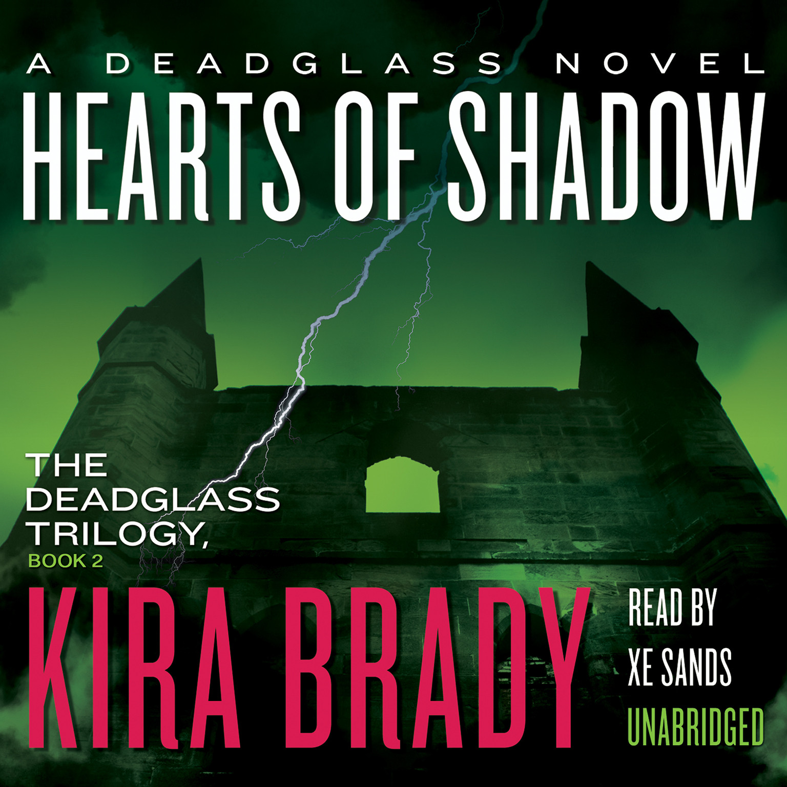 Printable Hearts of Shadow: A Deadglass Novel Audiobook Cover Art
