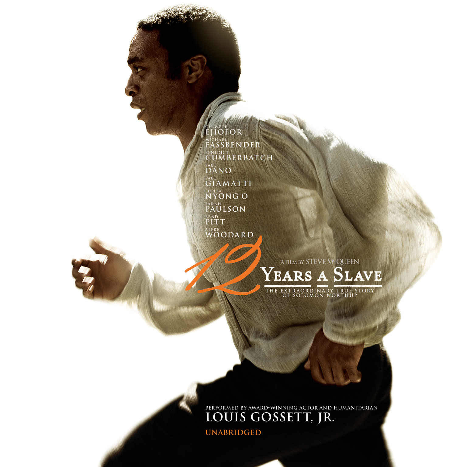 Printable Twelve Years a Slave Audiobook Cover Art