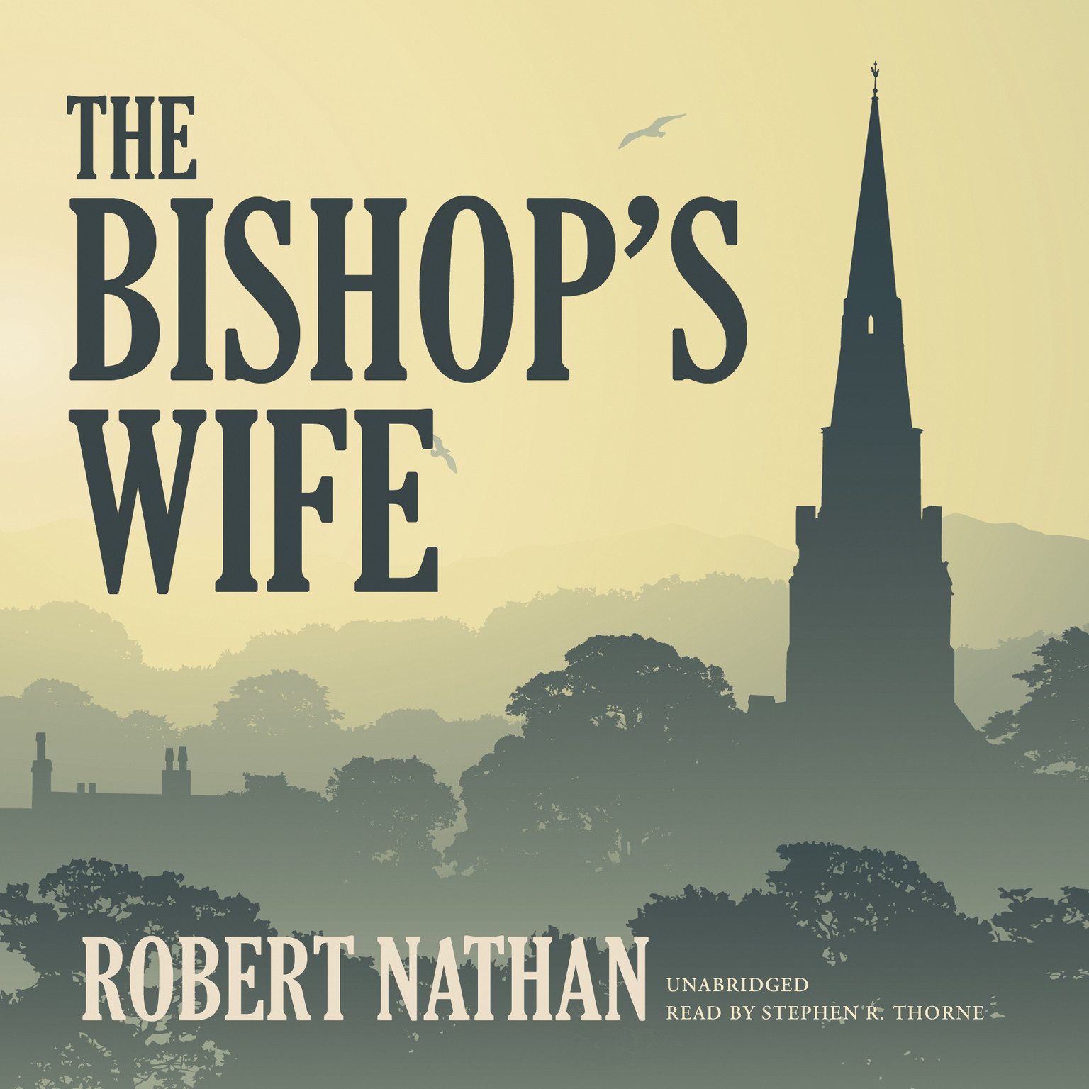 Printable The Bishop's Wife Audiobook Cover Art