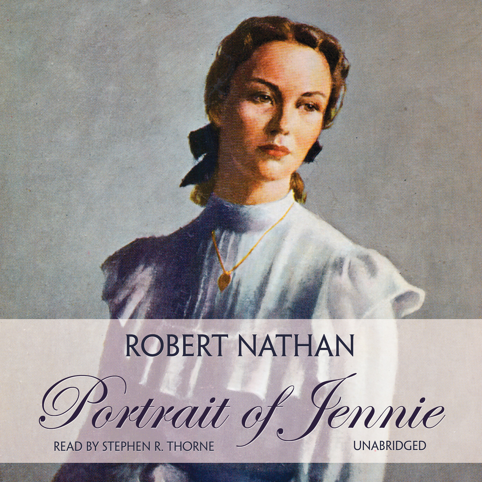 Printable Portrait of Jennie Audiobook Cover Art
