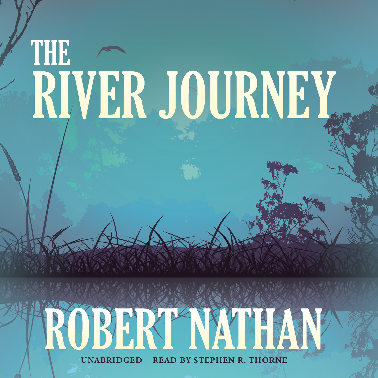 Printable The River Journey Audiobook Cover Art