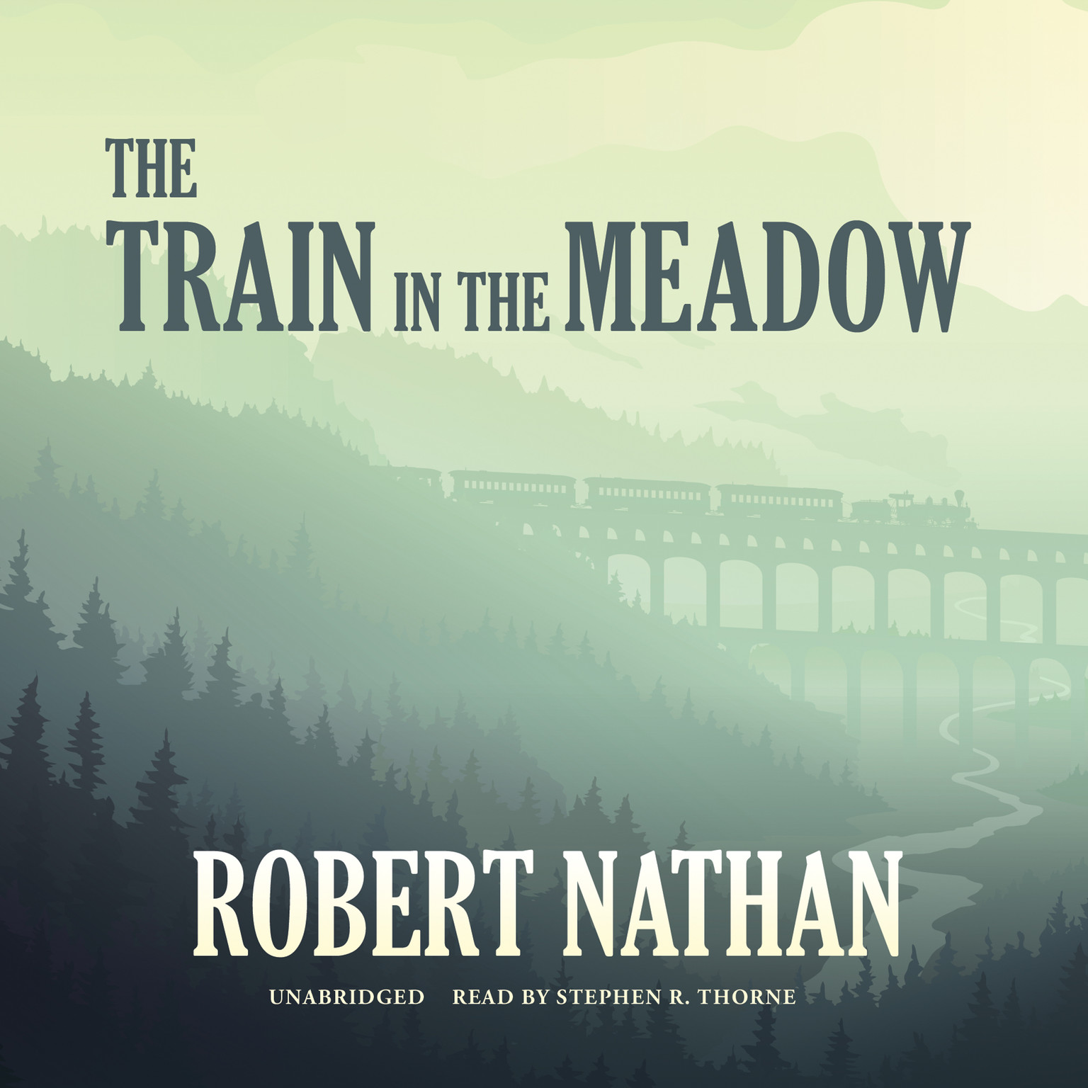 Printable The Train in the Meadow Audiobook Cover Art