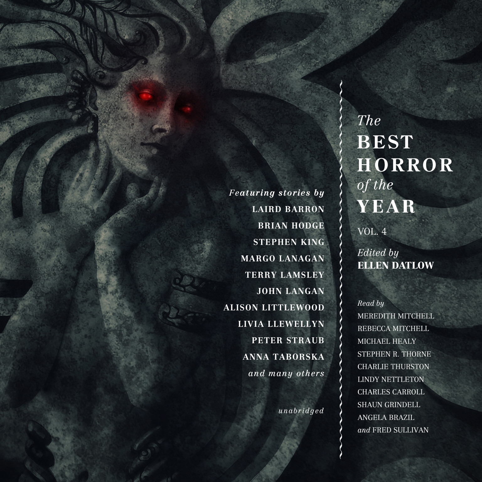 Printable The Best Horror of the Year, Vol. 4 Audiobook Cover Art