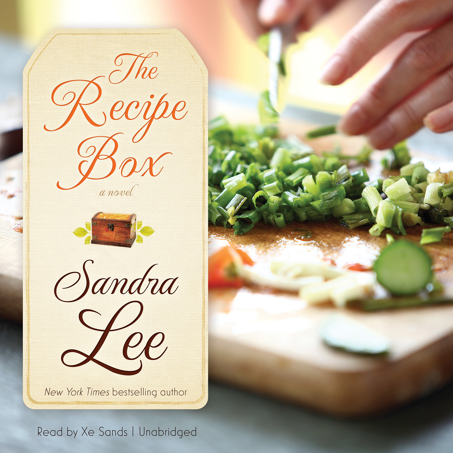 Printable The Recipe Box Audiobook Cover Art