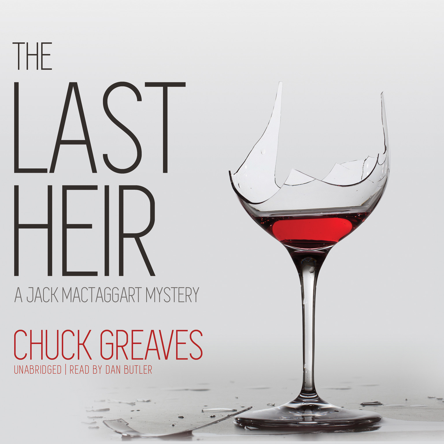 Printable The Last Heir: A Jack MacTaggart Mystery Audiobook Cover Art