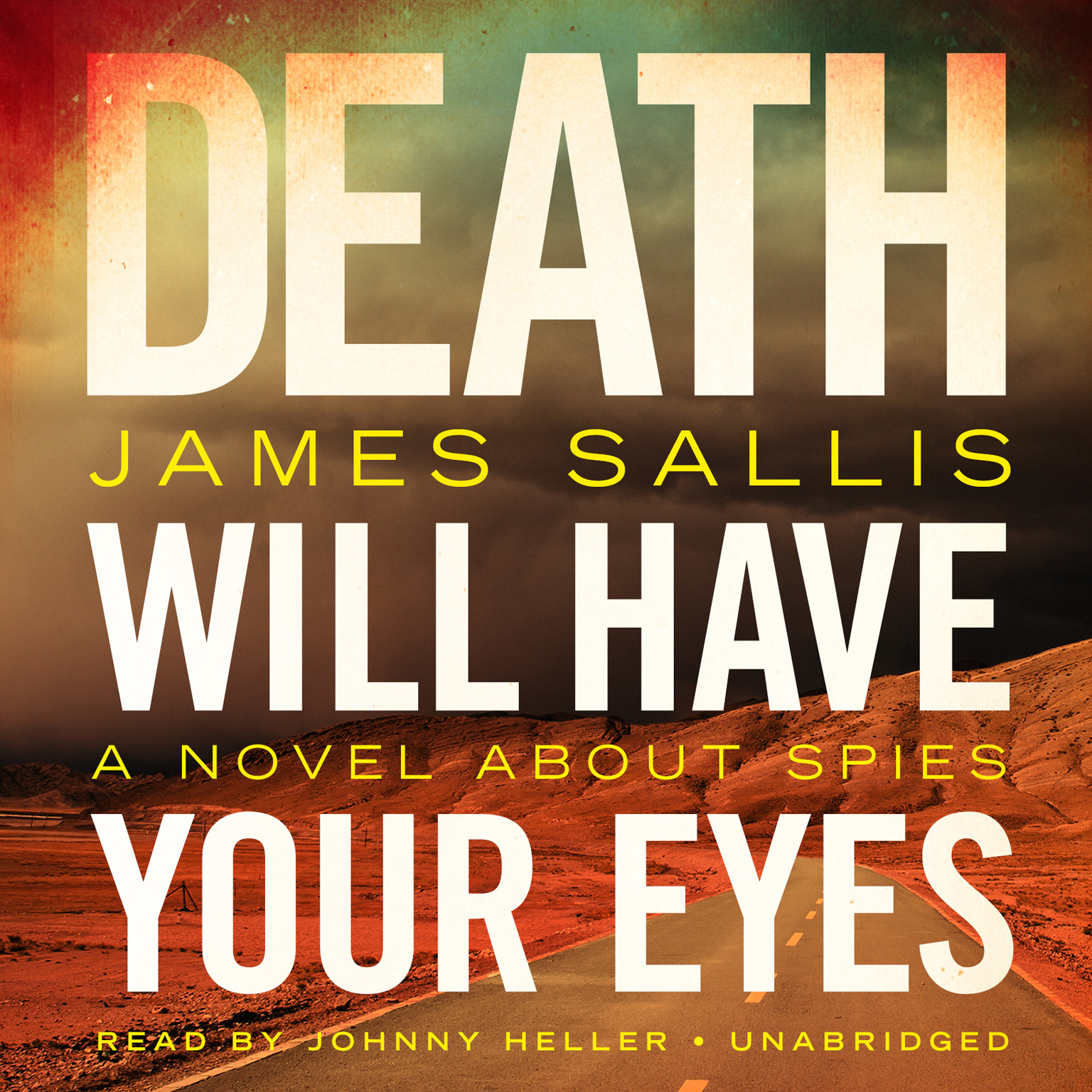 Printable Death Will Have Your Eyes: A Novel about Spies Audiobook Cover Art