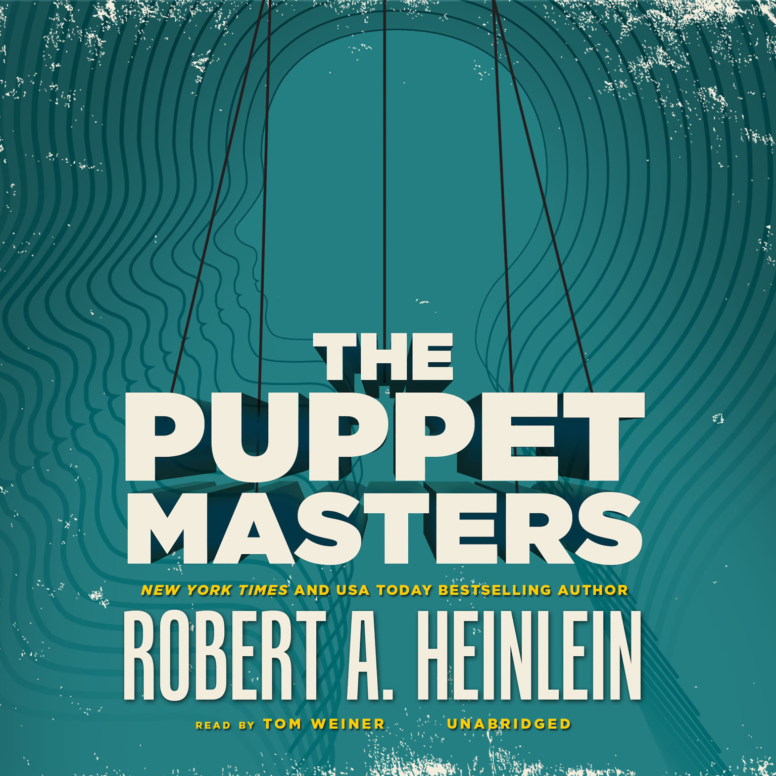 Printable The Puppet Masters Audiobook Cover Art