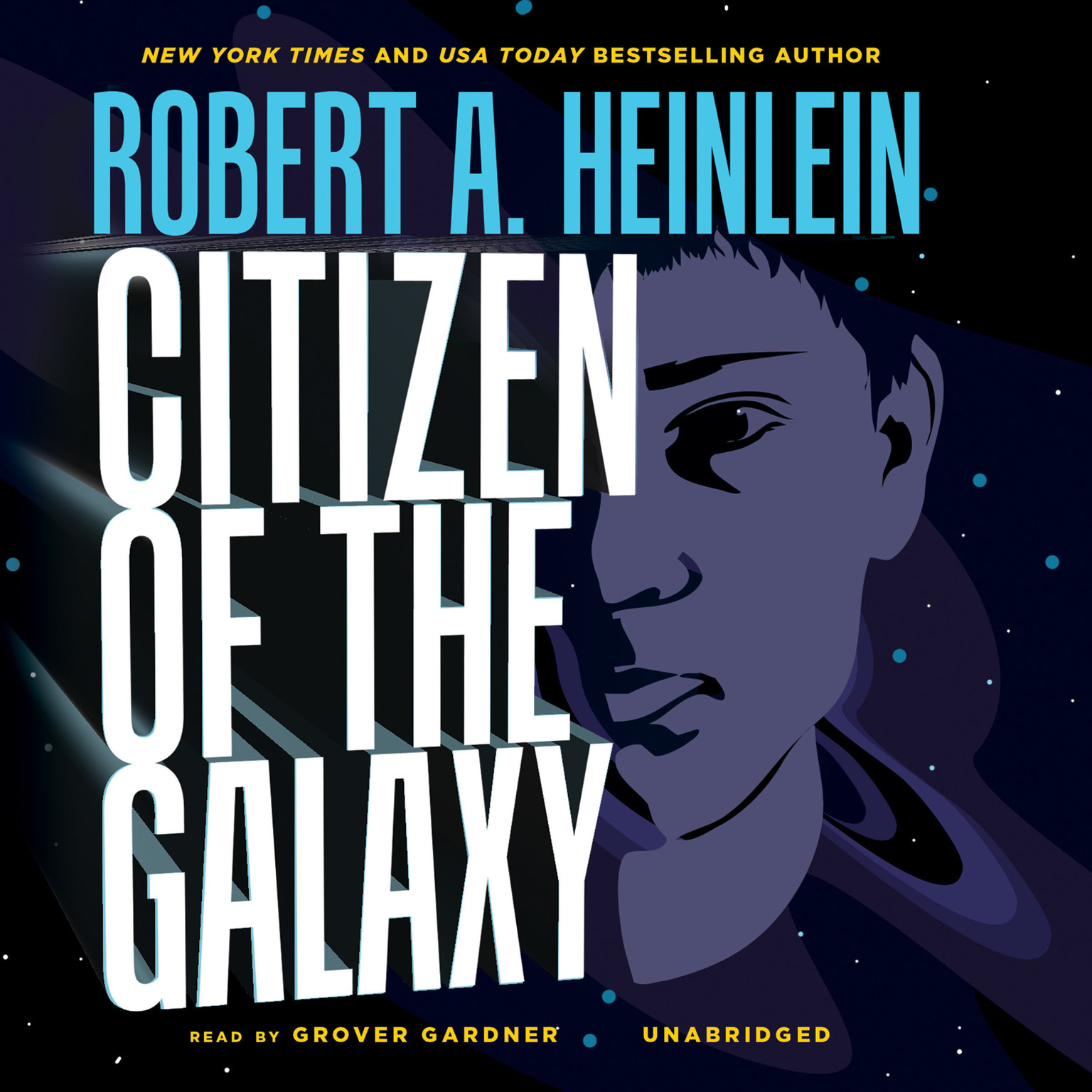 Printable Citizen of the Galaxy Audiobook Cover Art