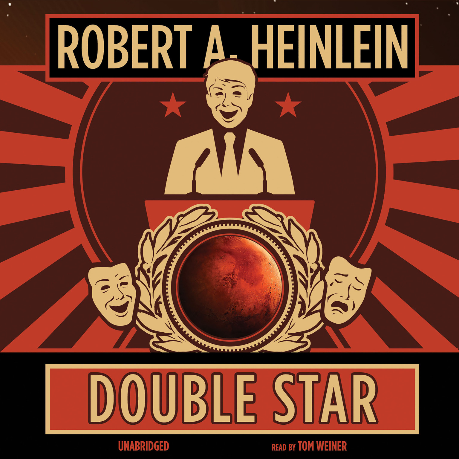 Printable Double Star Audiobook Cover Art