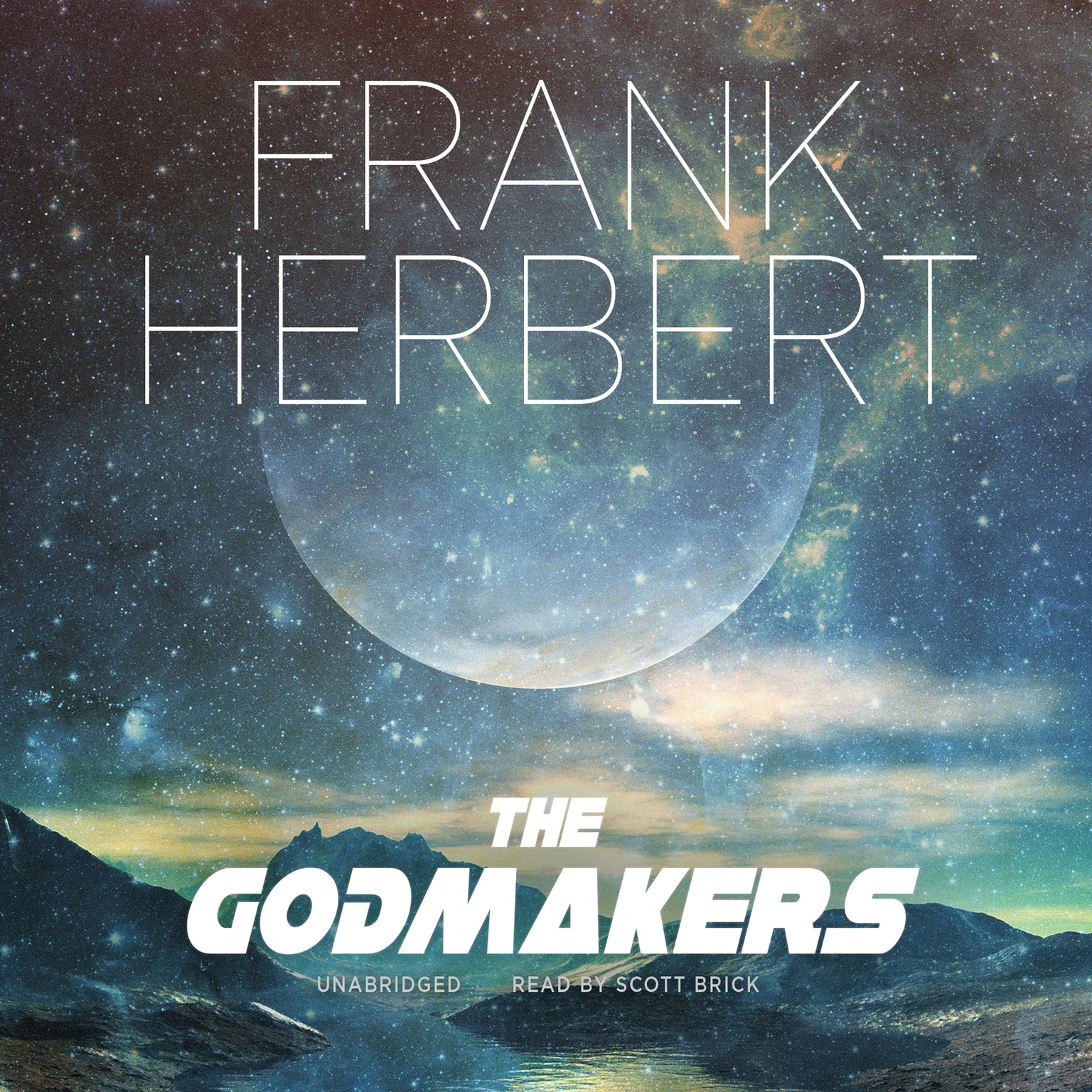 Printable The Godmakers Audiobook Cover Art