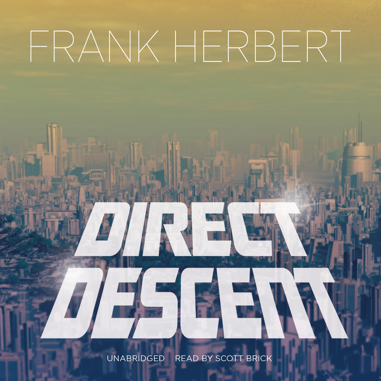 Printable Direct Descent Audiobook Cover Art