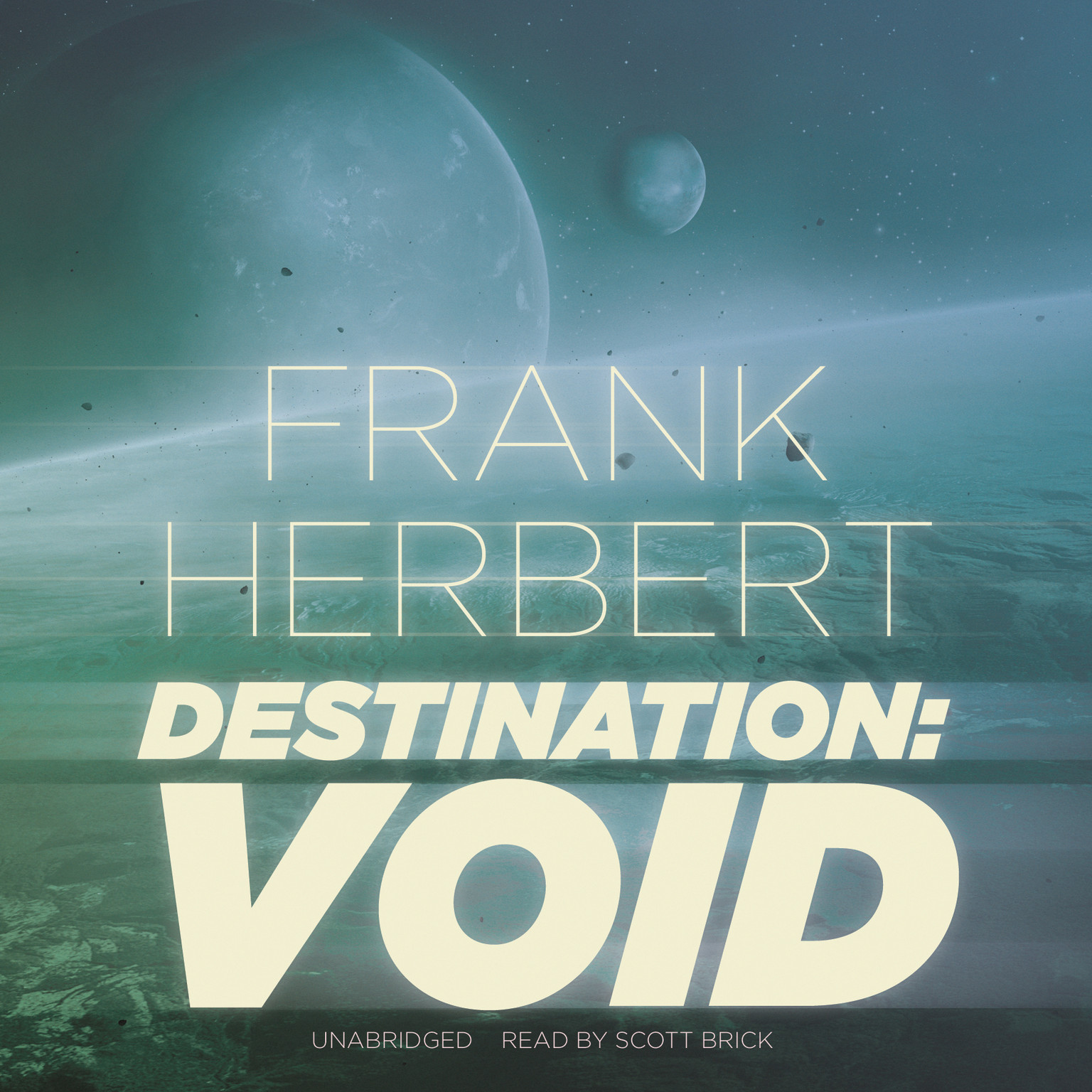 Printable Destination: Void Audiobook Cover Art