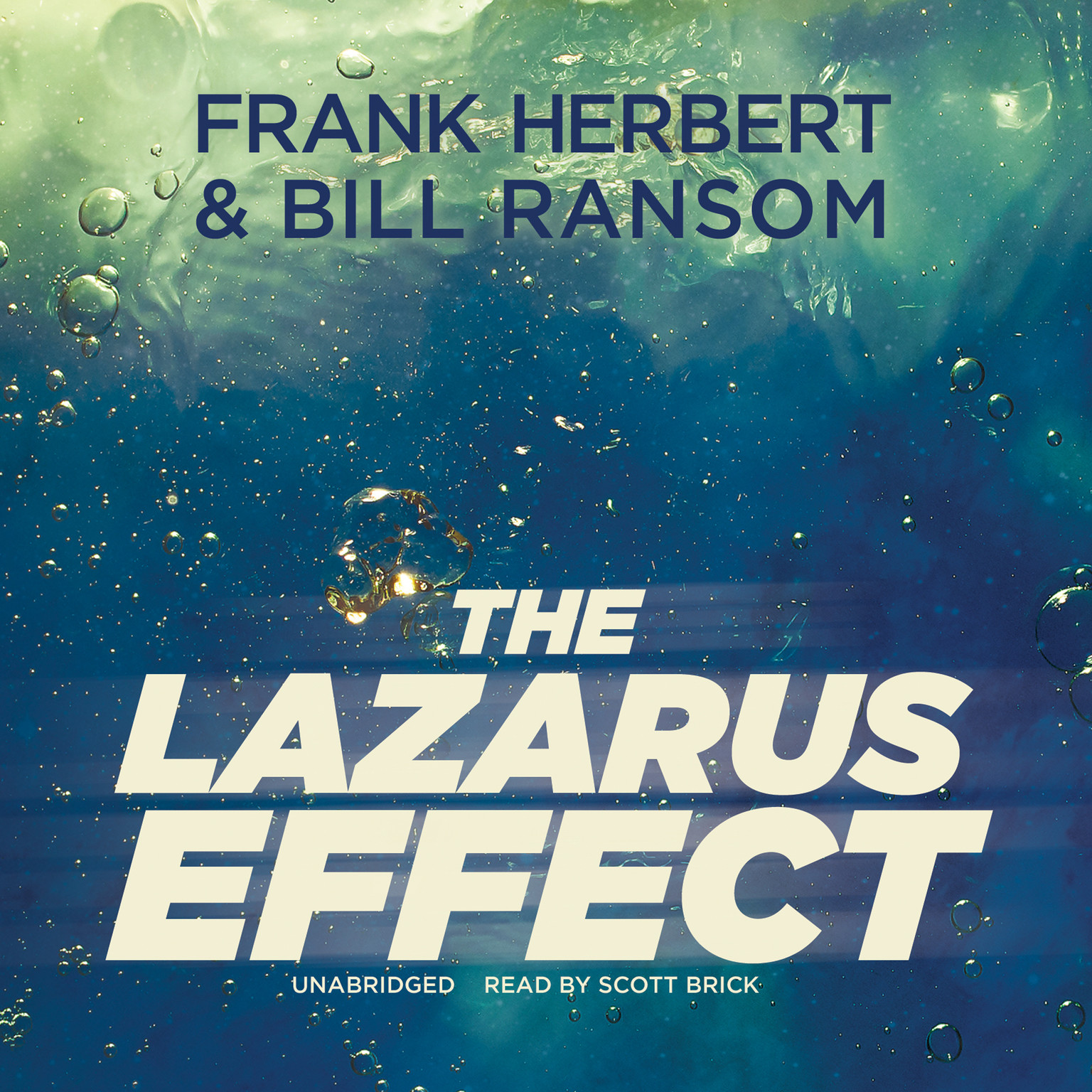 Printable The Lazarus Effect Audiobook Cover Art