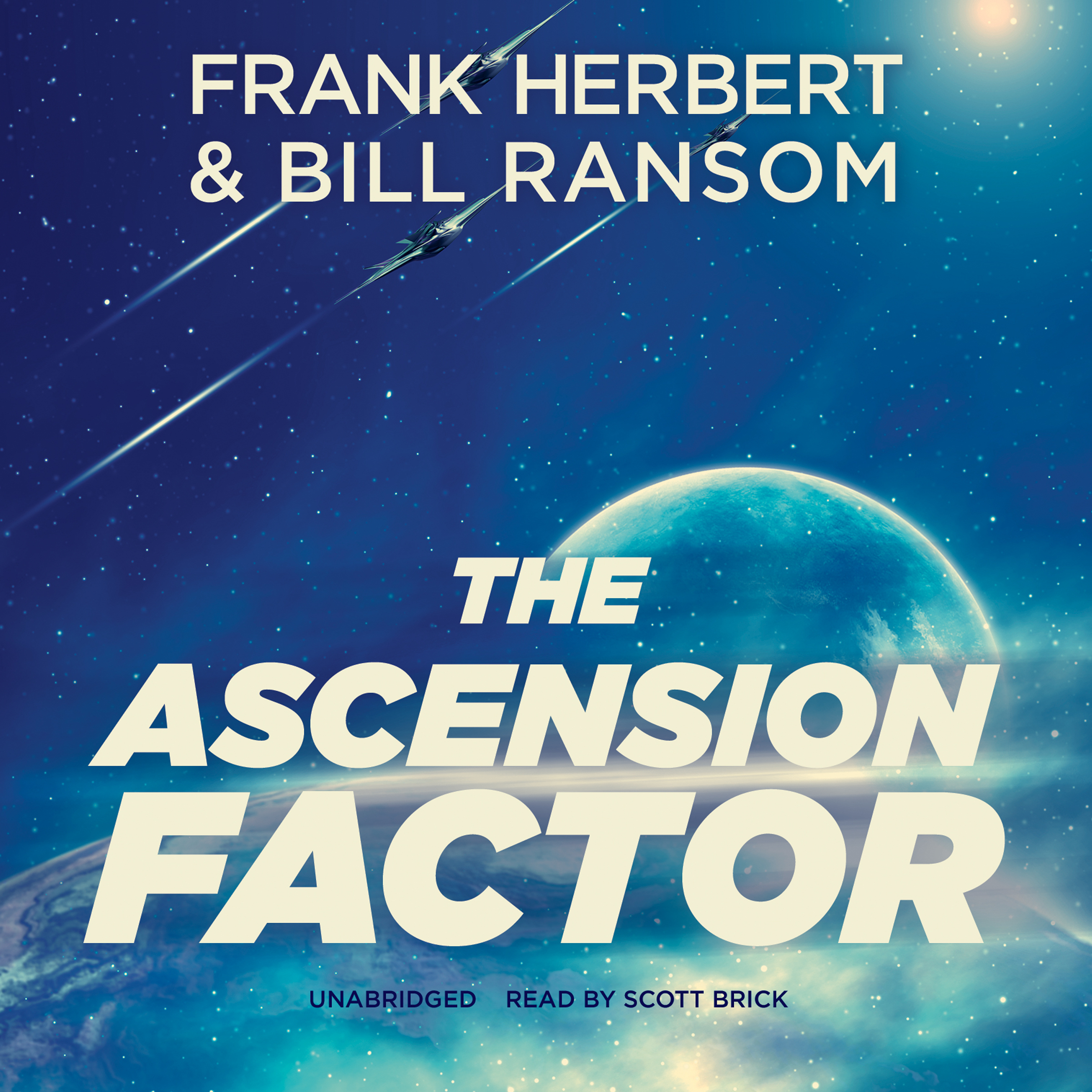 Printable The Ascension Factor Audiobook Cover Art