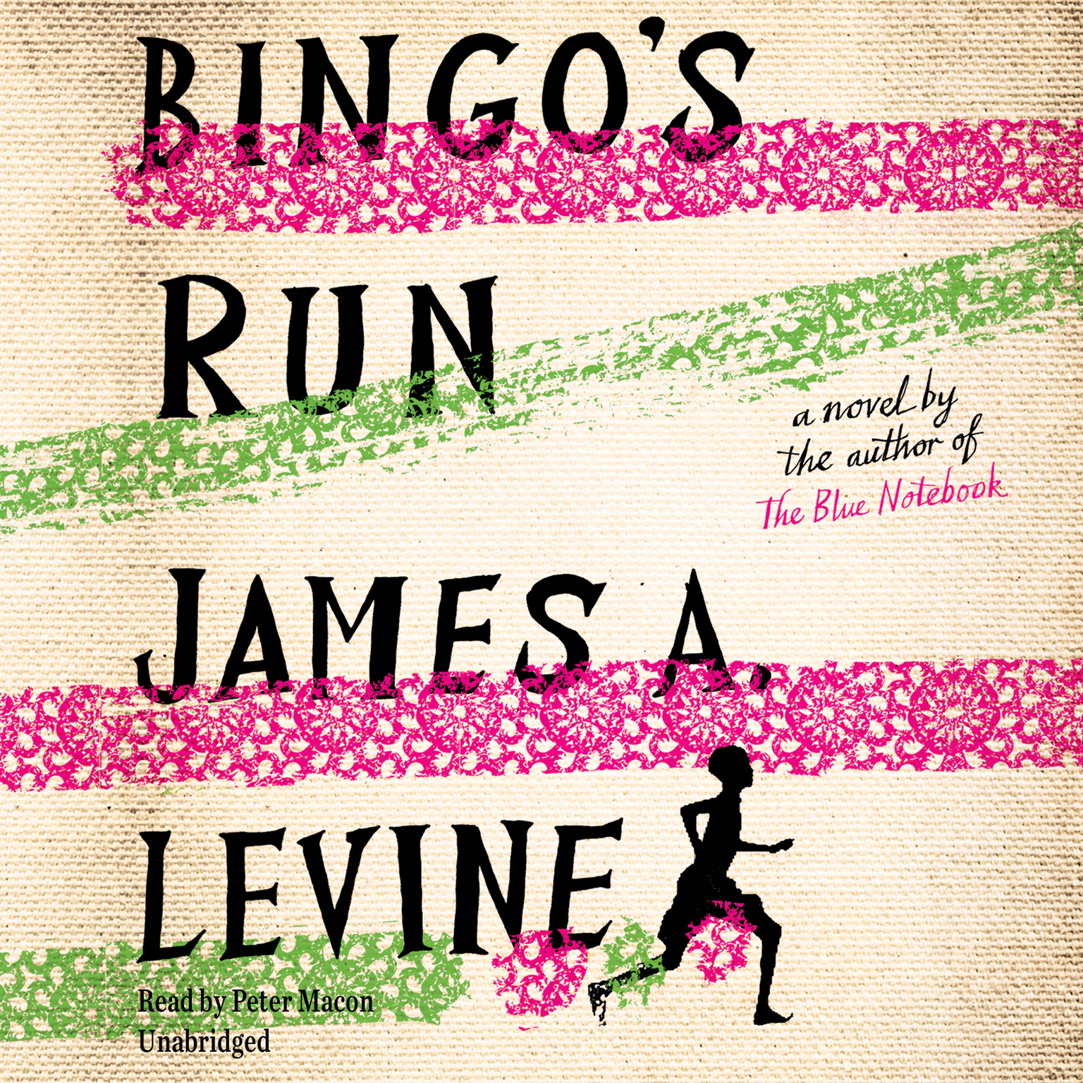 Printable Bingo's Run: A Novel Audiobook Cover Art