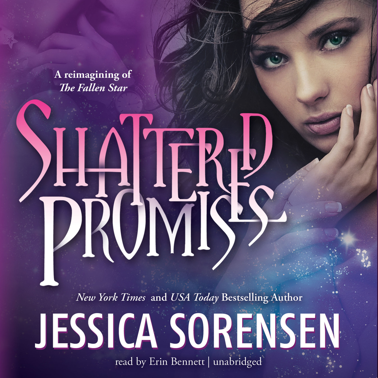 Printable Shattered Promises Audiobook Cover Art
