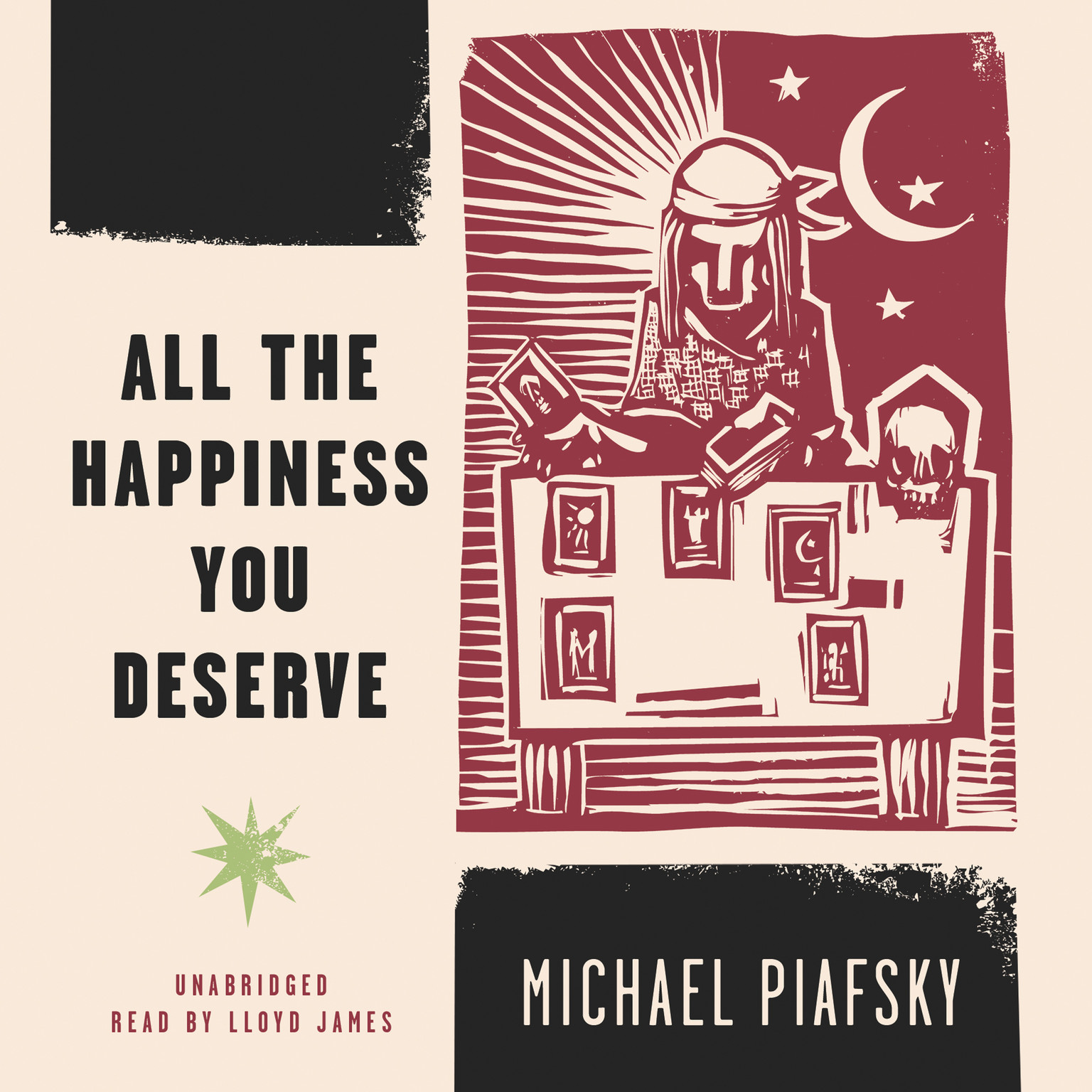 Printable All the Happiness You Deserve Audiobook Cover Art