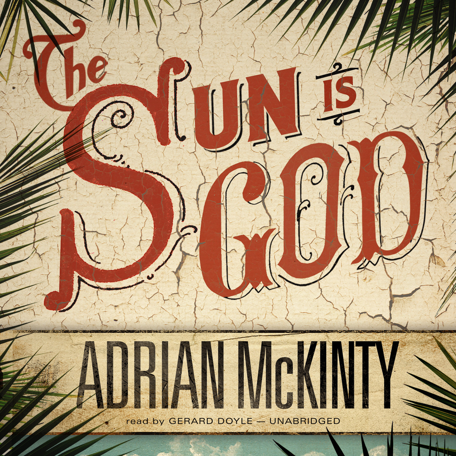 Printable The Sun Is God Audiobook Cover Art