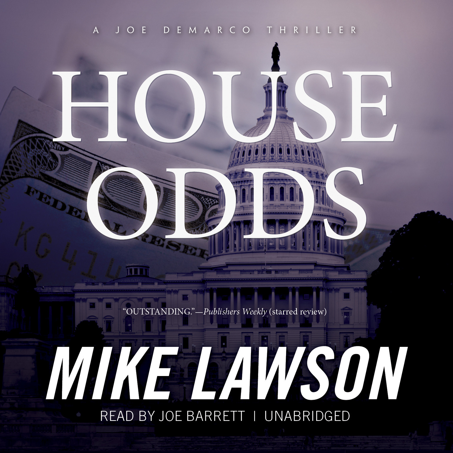 Printable House Odds: A Joe DeMarco Thriller Audiobook Cover Art