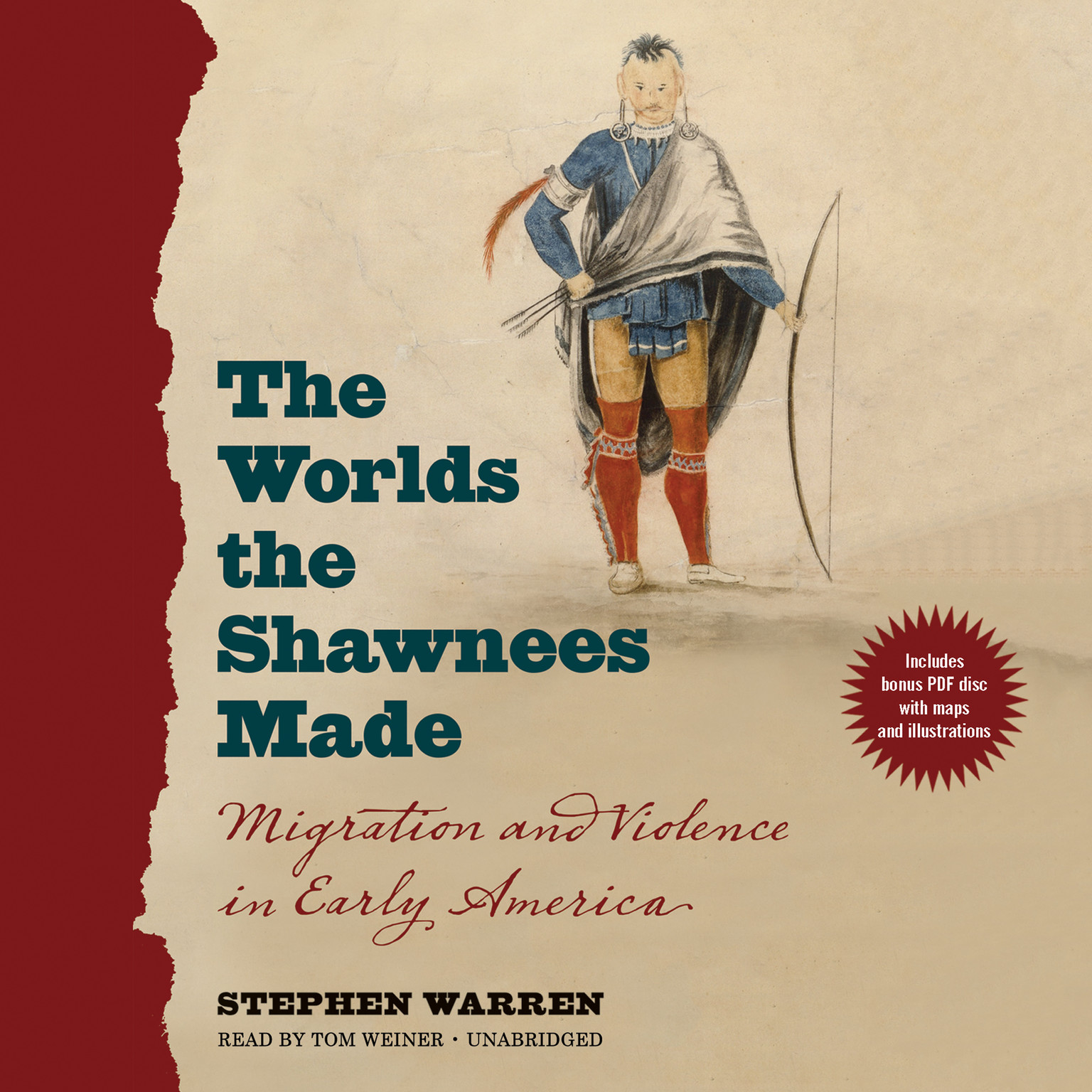 Printable The Worlds the Shawnees Made: Migration and Violence in Early America Audiobook Cover Art