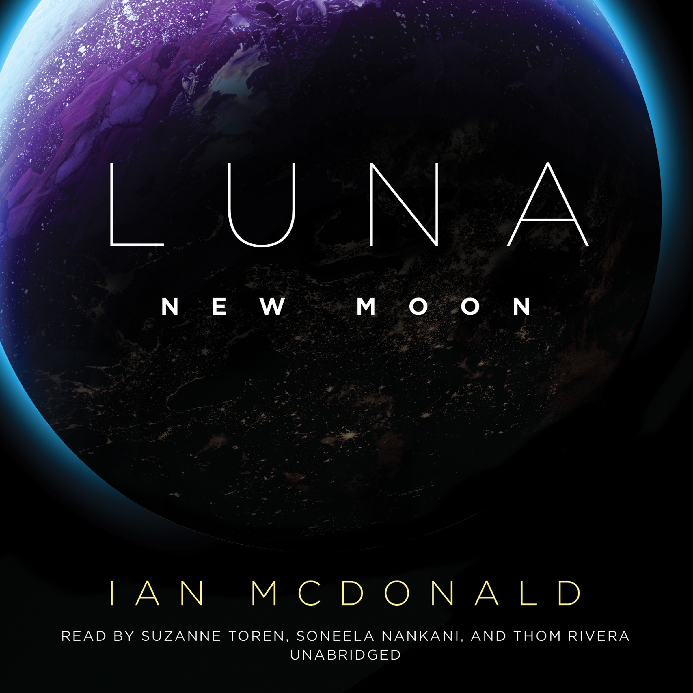 Printable Luna: New Moon Audiobook Cover Art