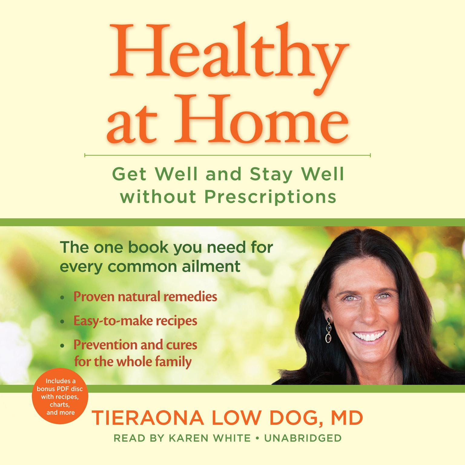 Printable Healthy at Home: Get Well and Stay Well without Prescriptions Audiobook Cover Art