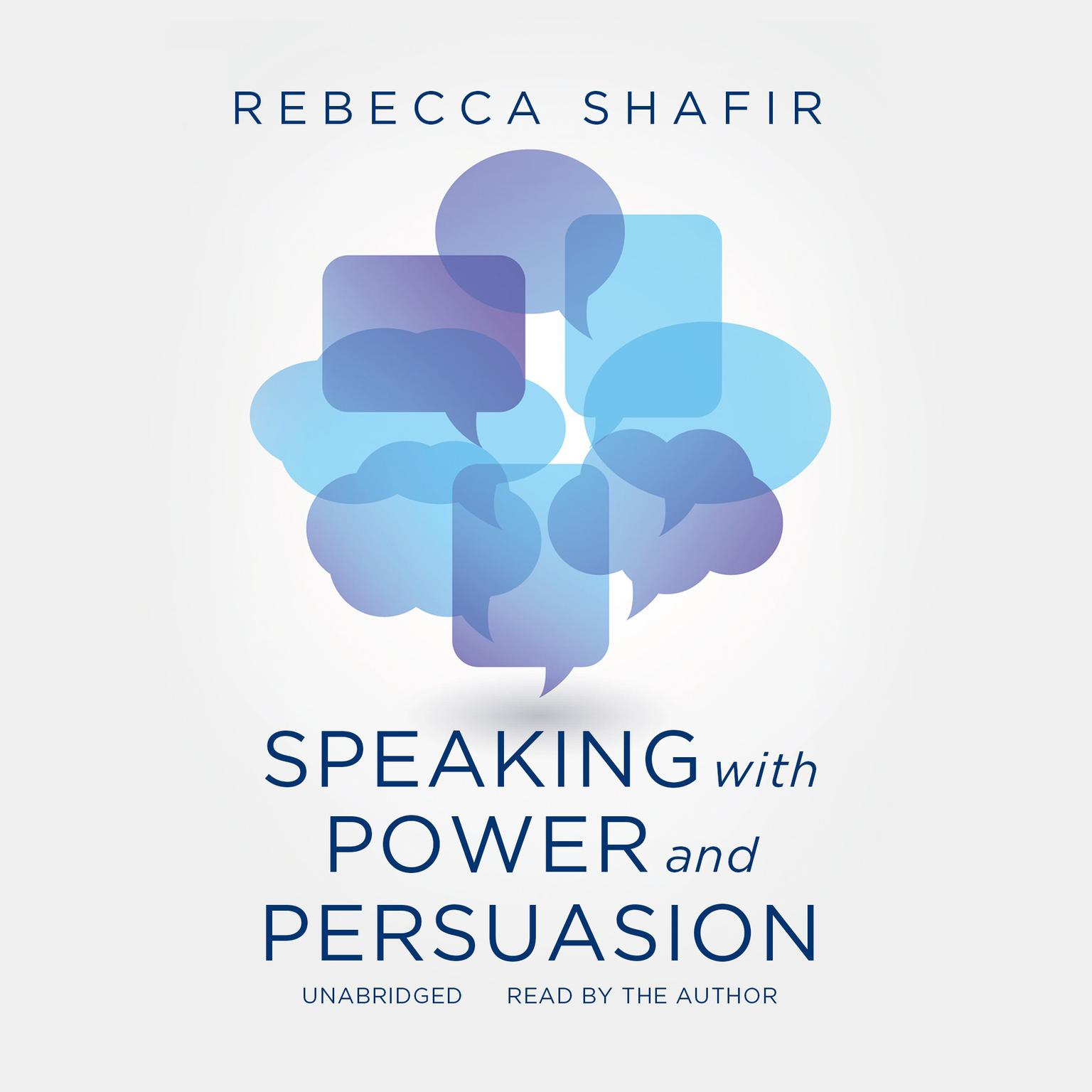 Printable Speaking with Power and Persuasion Audiobook Cover Art