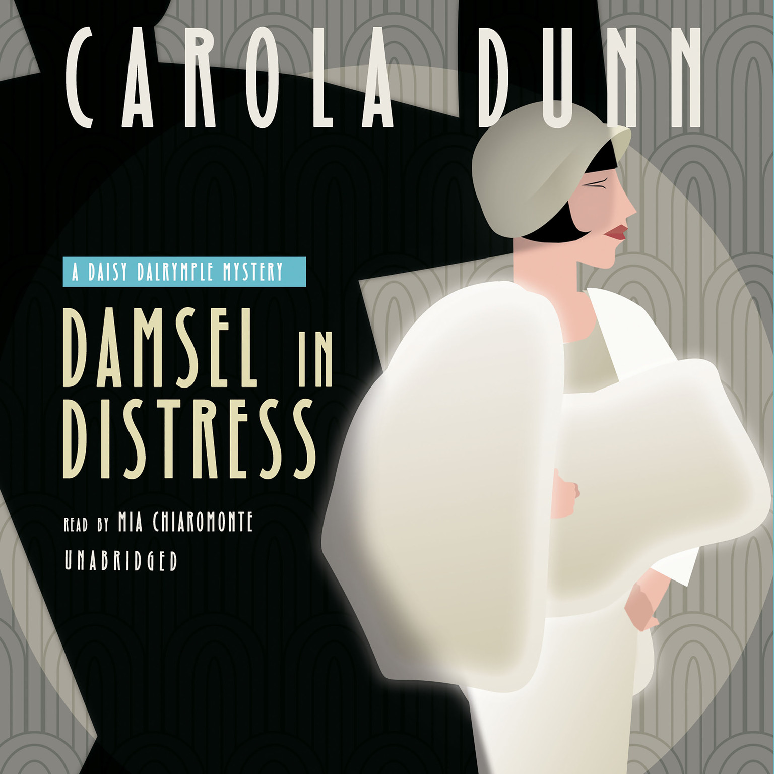 Printable Damsel in Distress: A Daisy Dalrymple Mystery Audiobook Cover Art