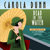 Dead in the Water: A Daisy Dalrymple Mystery, by Carola Dunn
