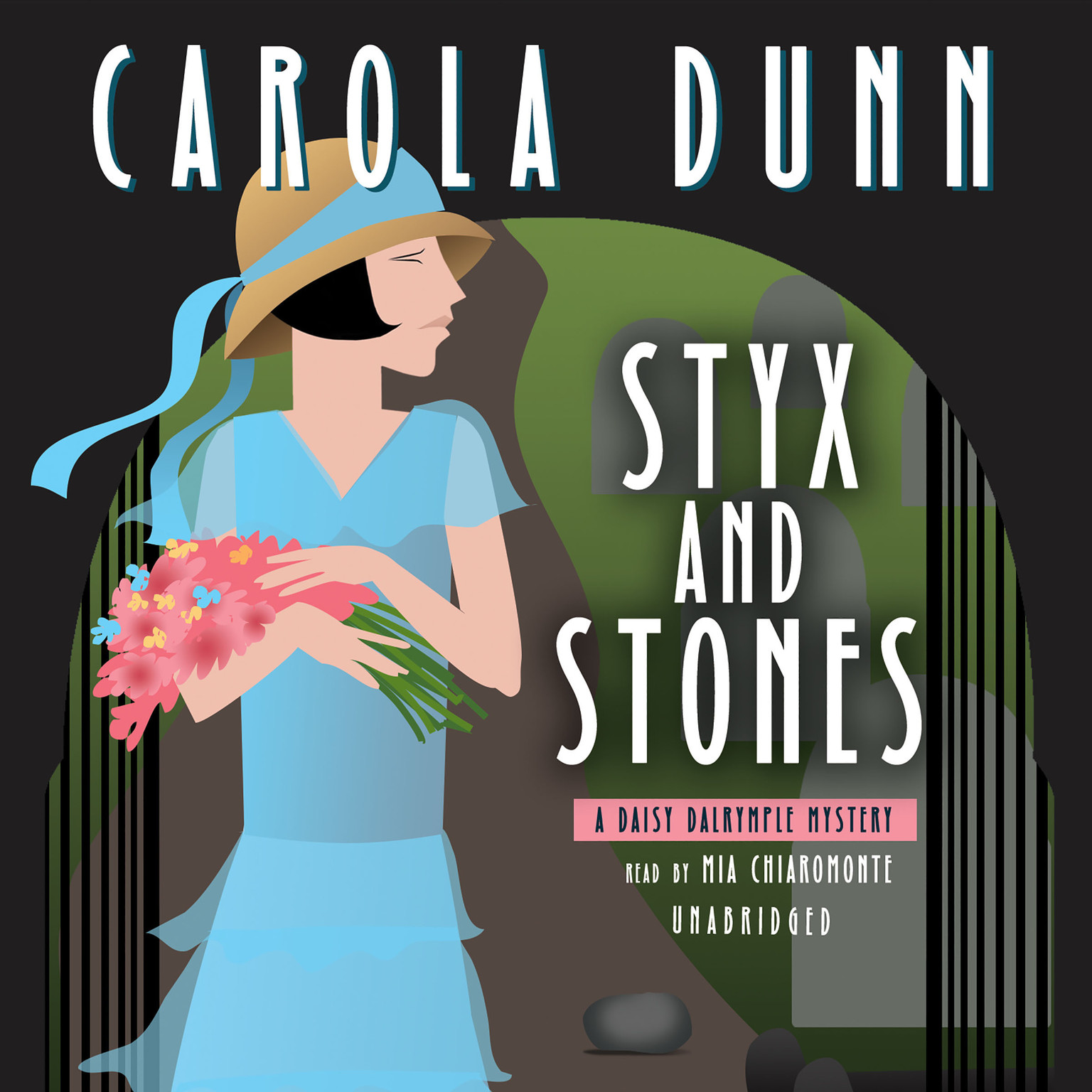 Printable Styx and Stones: A Daisy Dalrymple Mystery Audiobook Cover Art