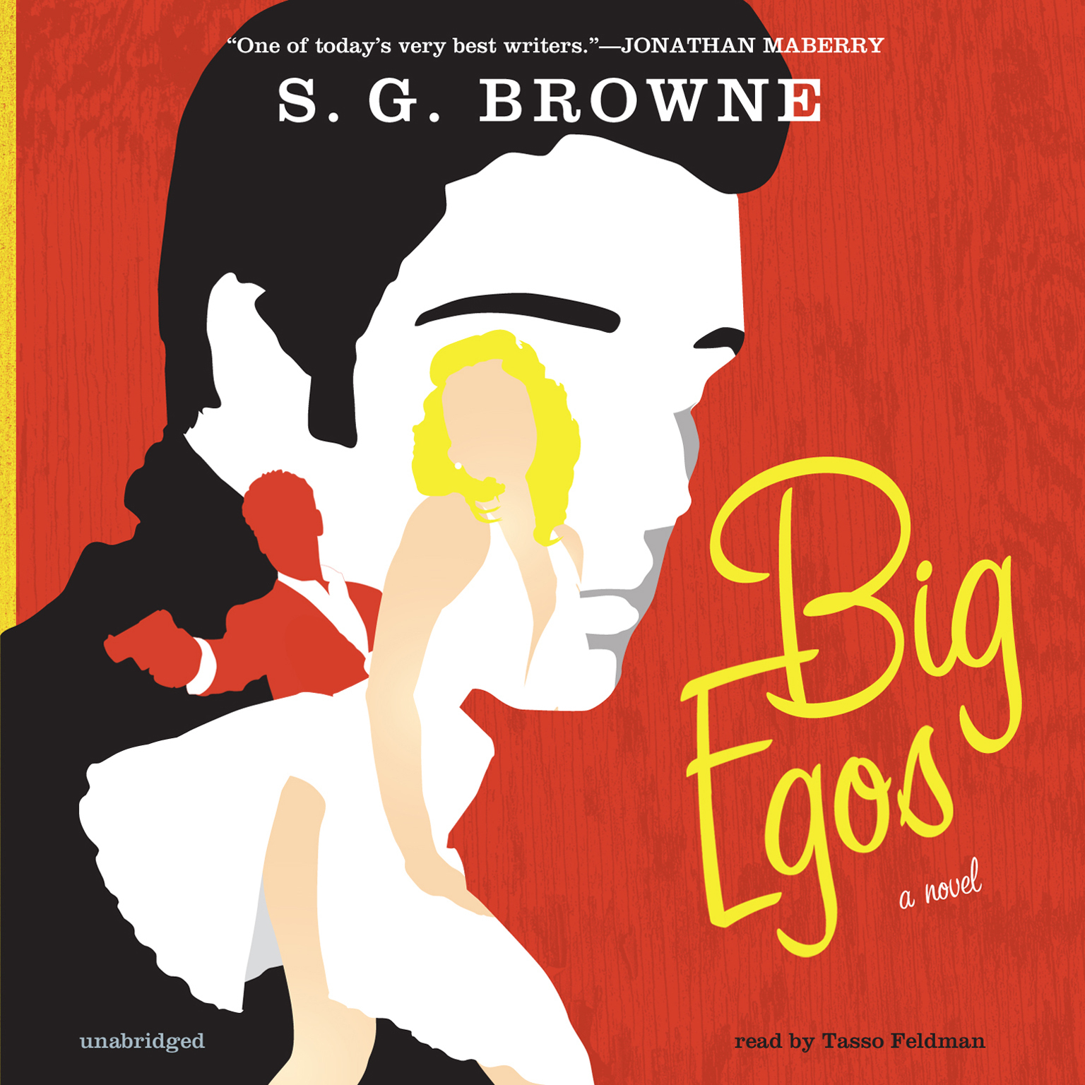Printable Big Egos: A Novel Audiobook Cover Art