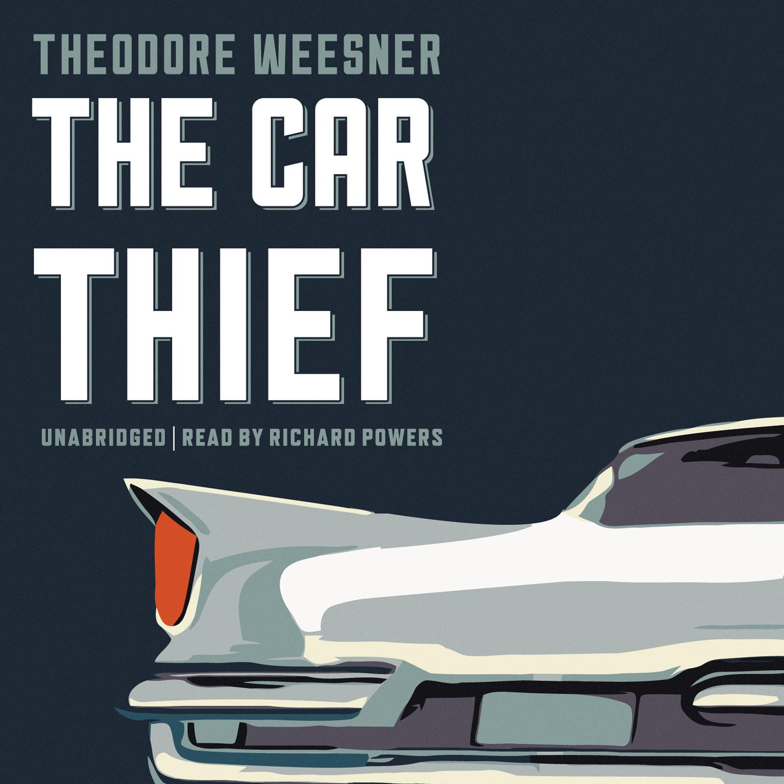 Printable The Car Thief Audiobook Cover Art