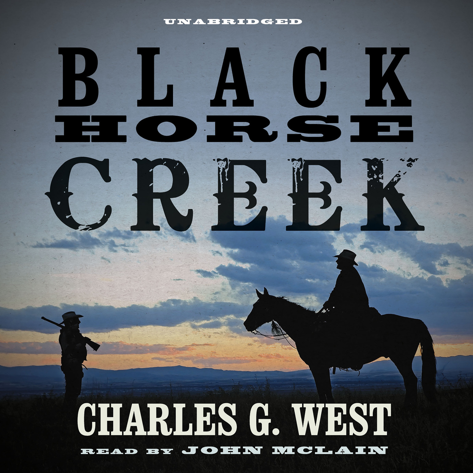 Printable Black Horse Creek Audiobook Cover Art