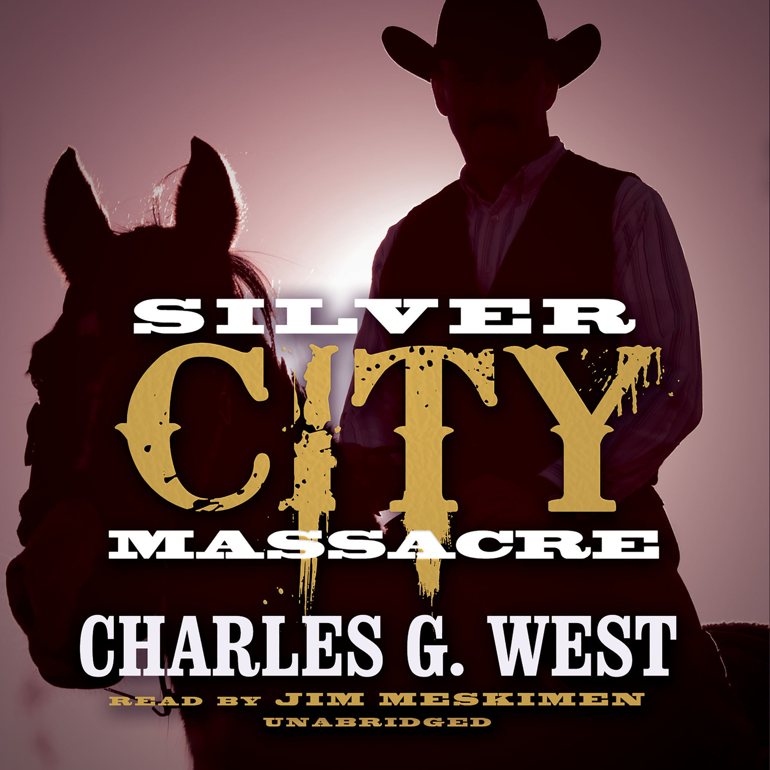 Printable Silver City Massacre Audiobook Cover Art