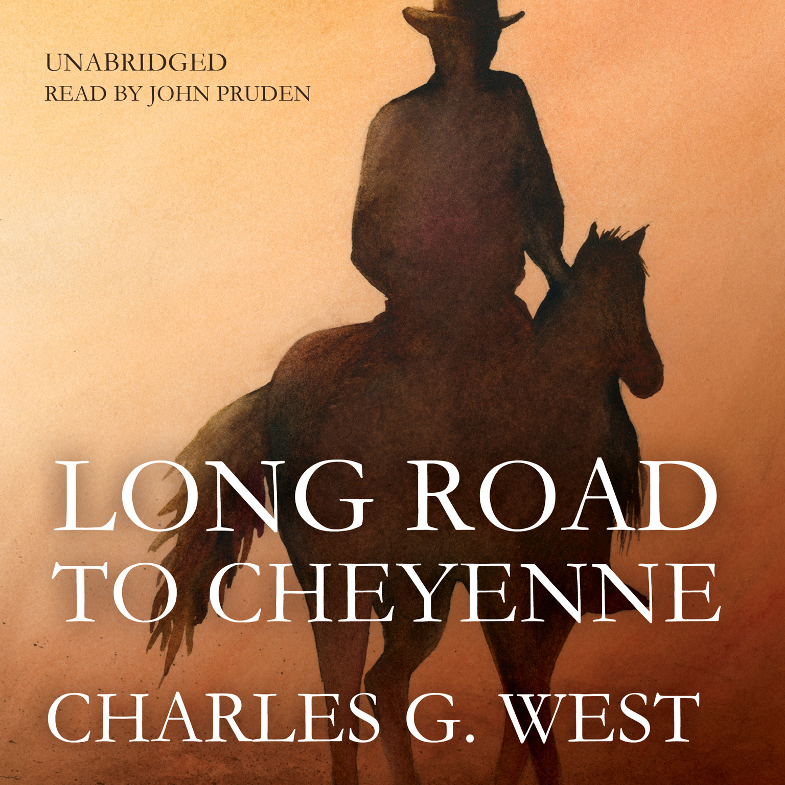 Printable Long Road to Cheyenne Audiobook Cover Art