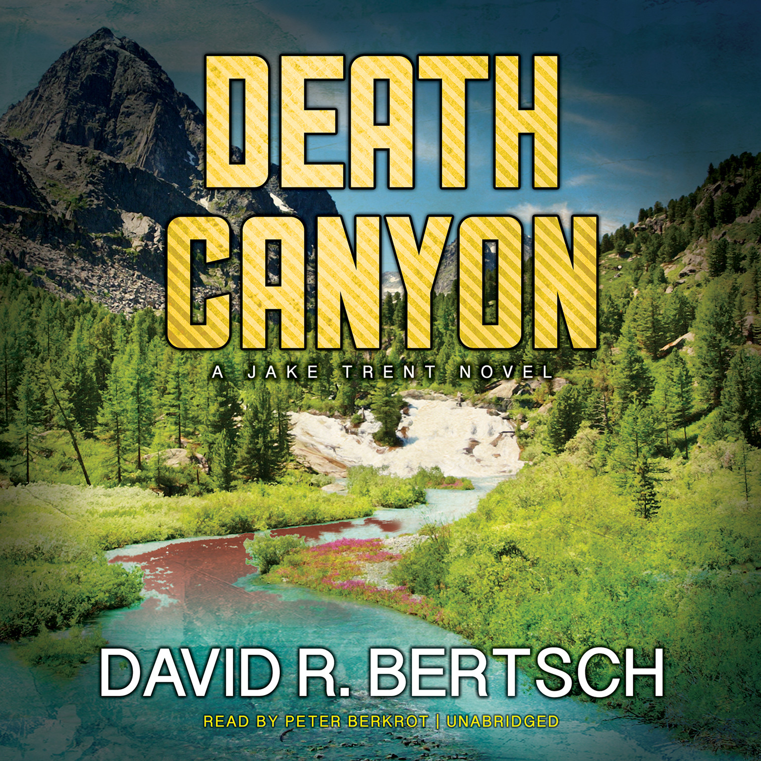 Printable Death Canyon: A Jake Trent Novel Audiobook Cover Art
