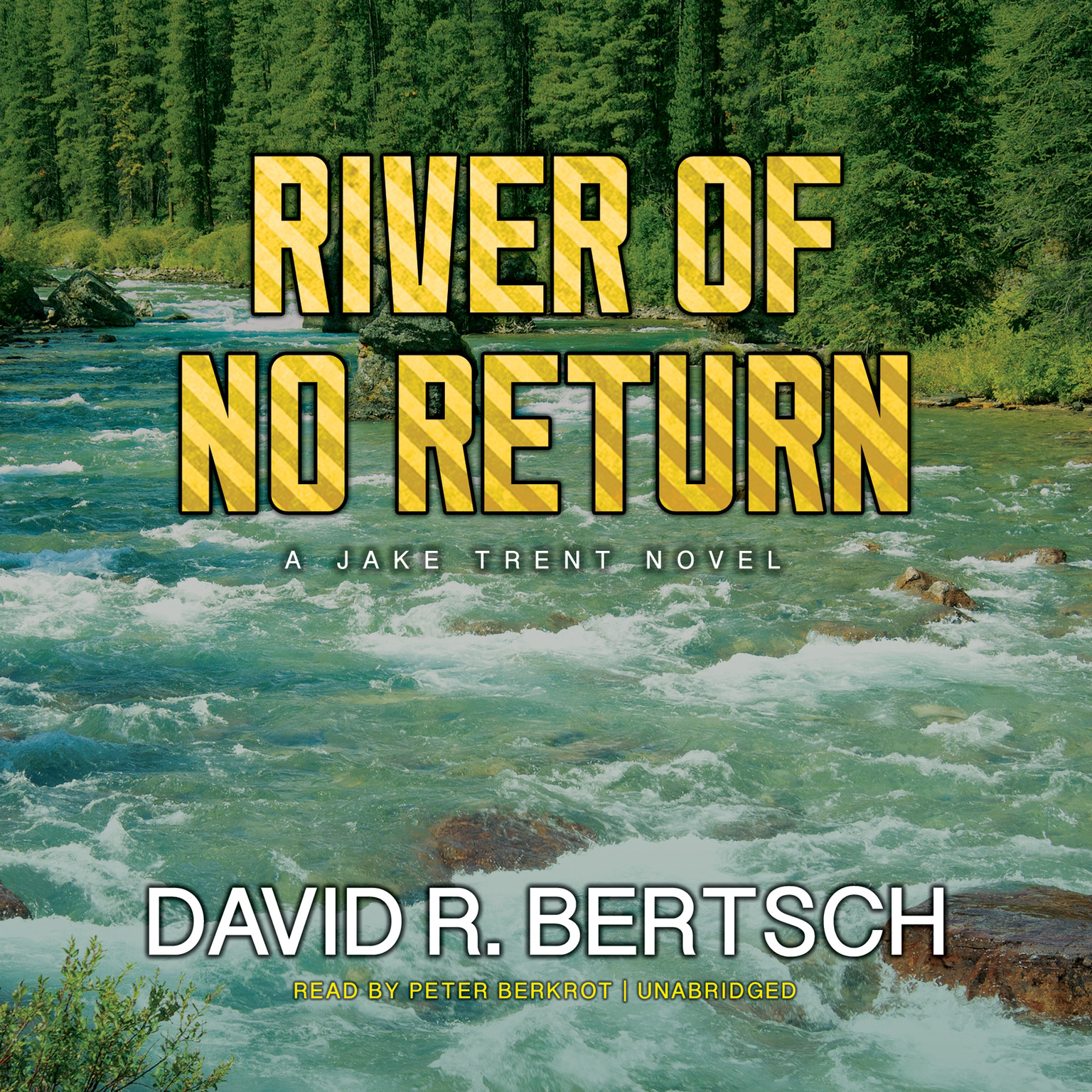 Printable River of No Return: A Jake Trent Novel Audiobook Cover Art