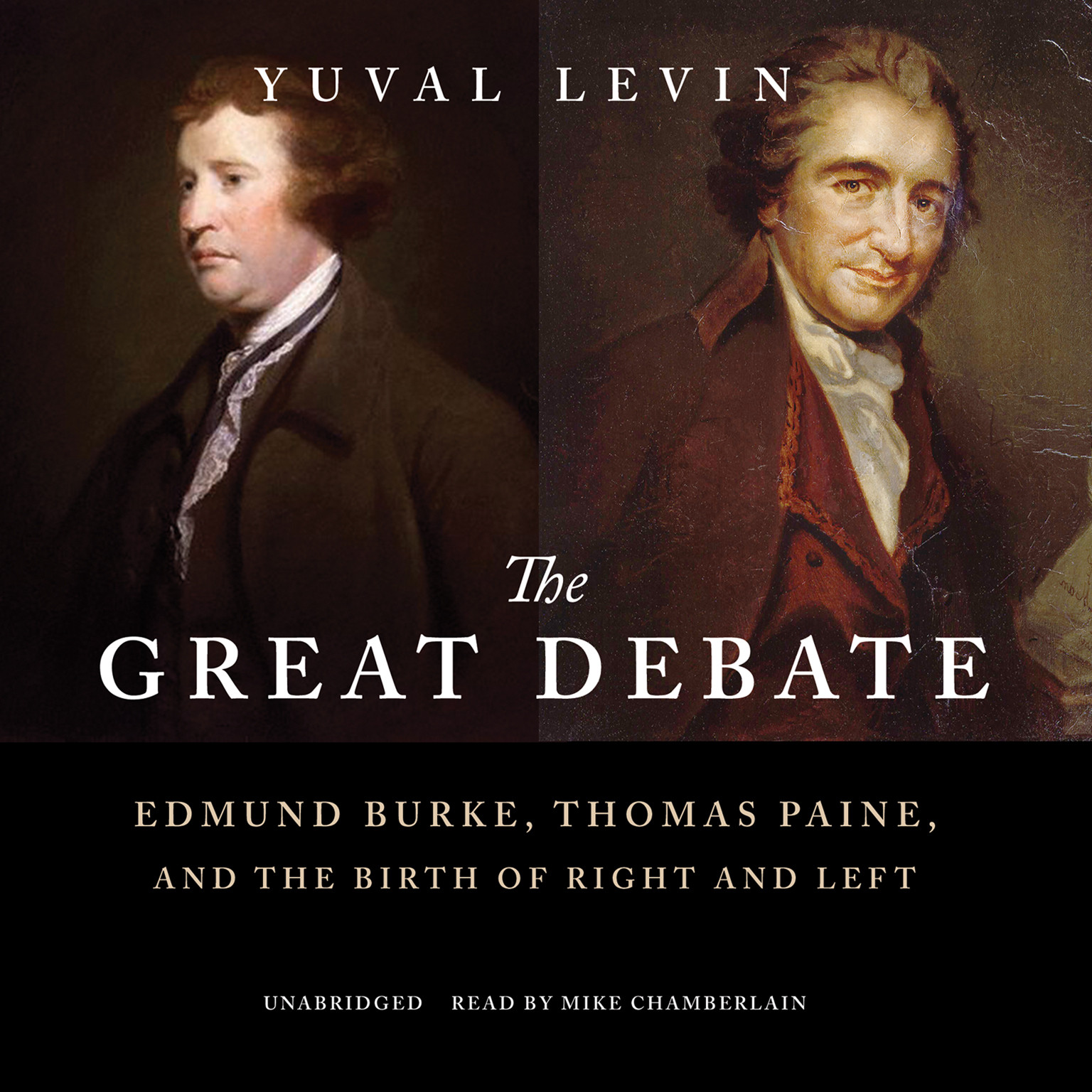Printable The Great Debate: Edmund Burke, Thomas Paine, and the Birth of Right and Left Audiobook Cover Art