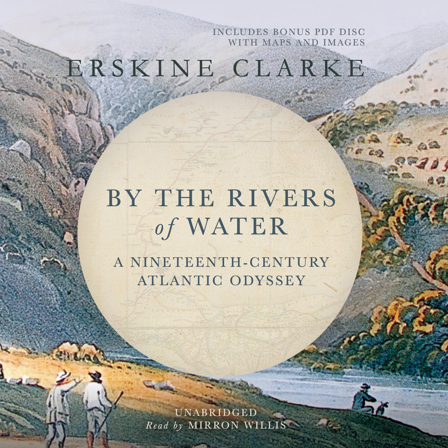 Printable By the Rivers of Water: A Nineteenth-Century Atlantic Odyssey Audiobook Cover Art