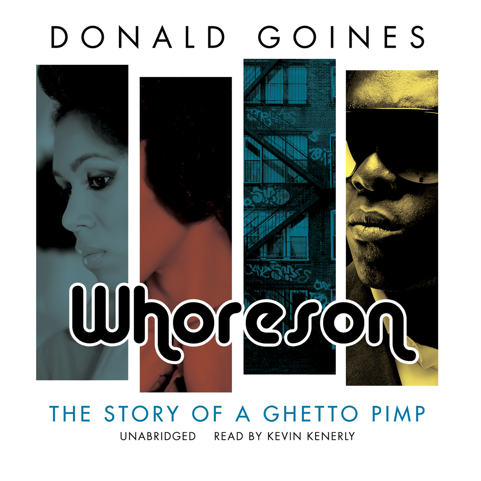 Printable Whoreson: The Story of a Ghetto Pimp Audiobook Cover Art