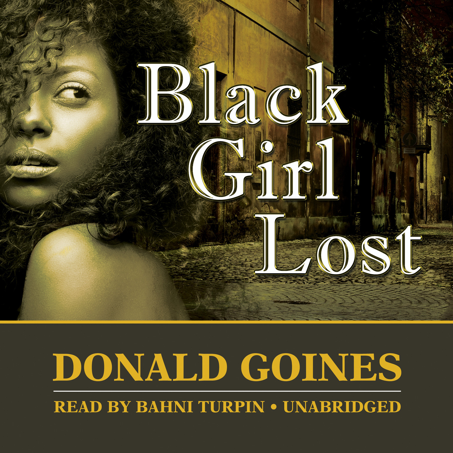 Printable Black Girl Lost Audiobook Cover Art