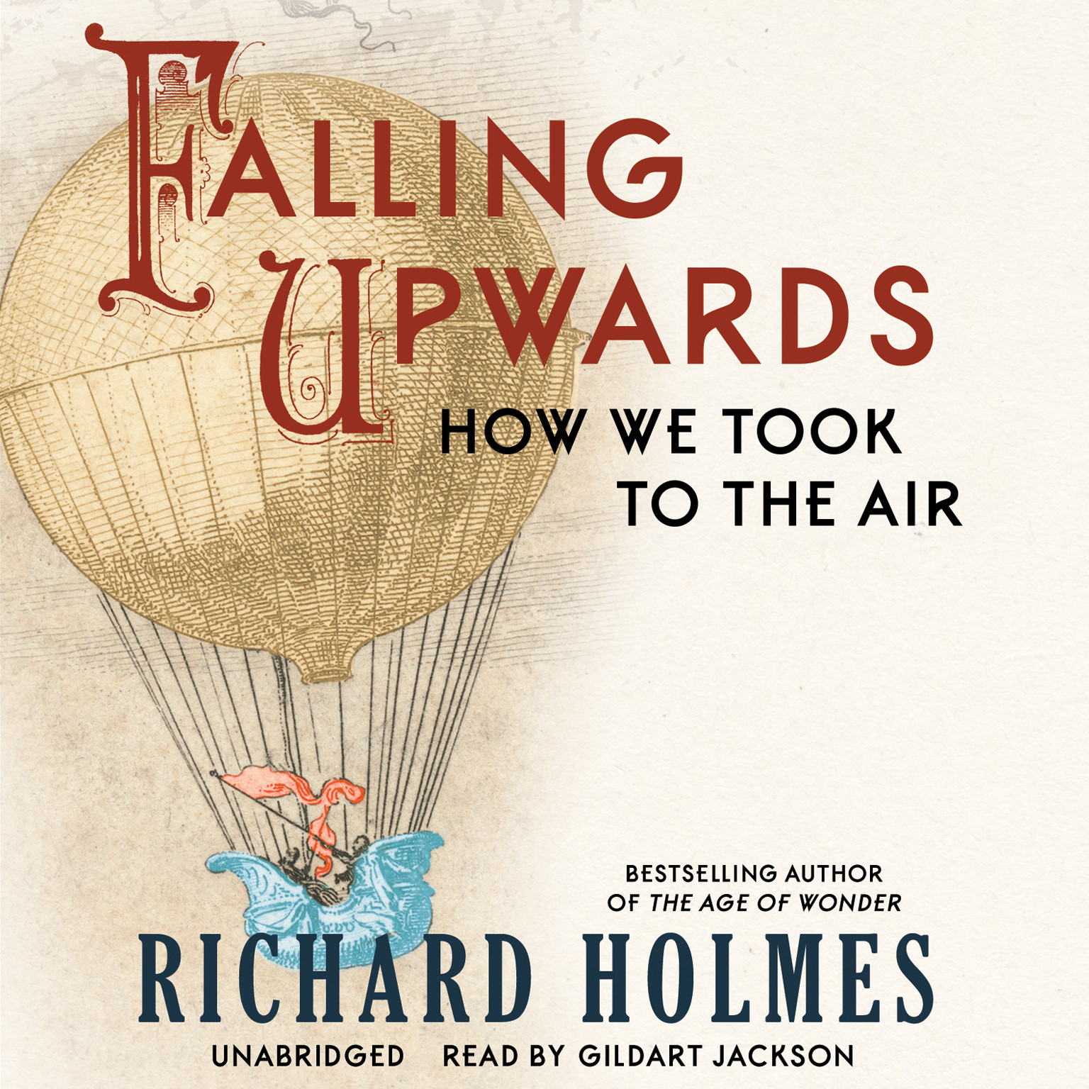 Printable Falling Upwards: How We Took to the Air Audiobook Cover Art