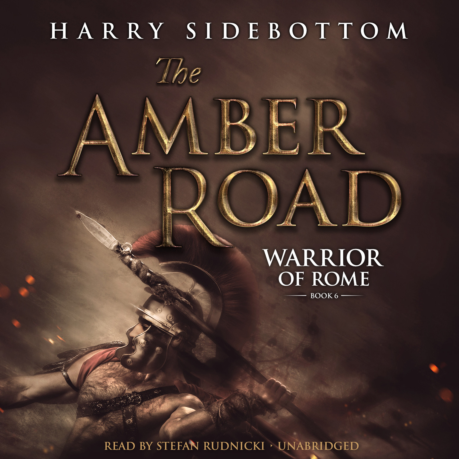 Printable The Amber Road Audiobook Cover Art