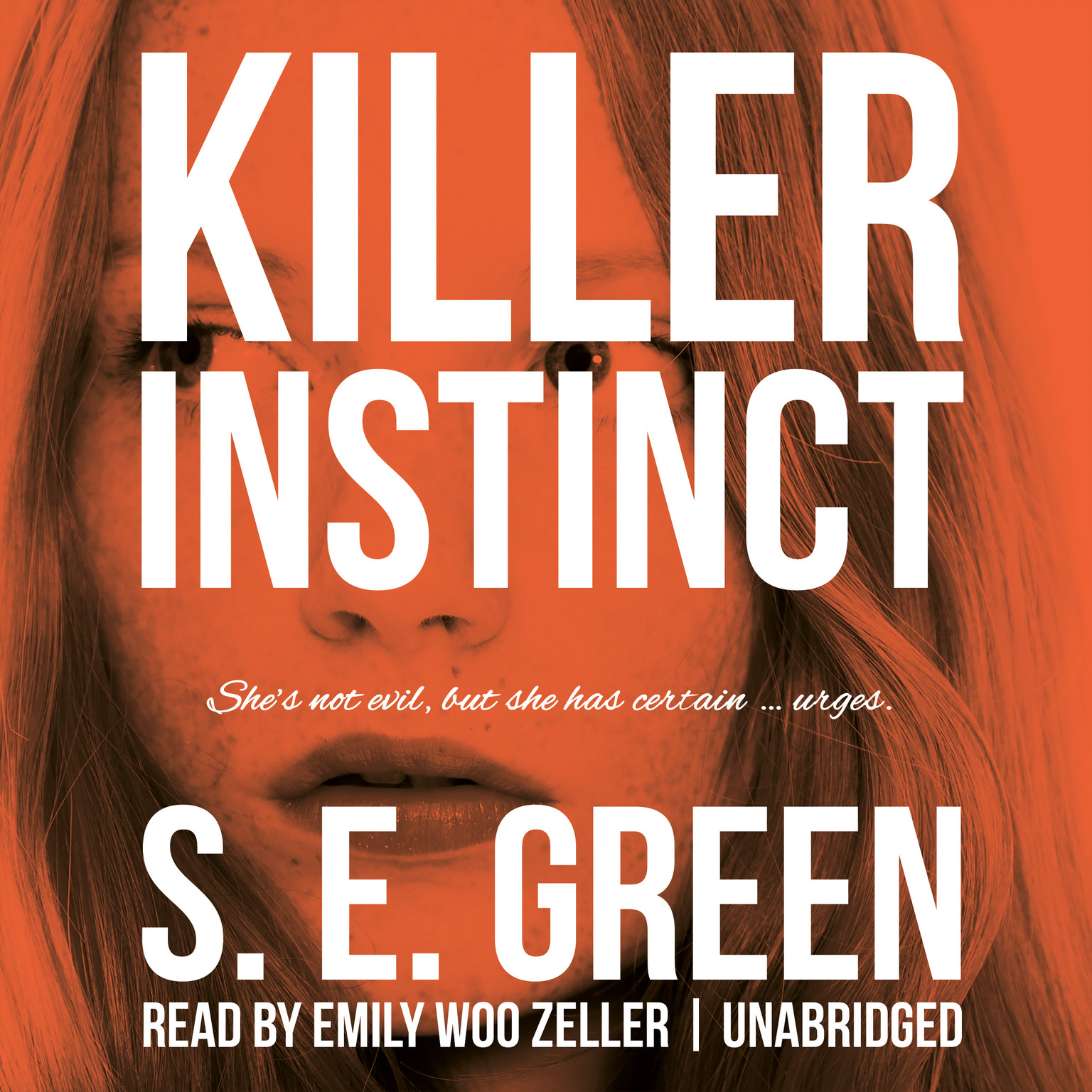 Printable Killer Instinct Audiobook Cover Art