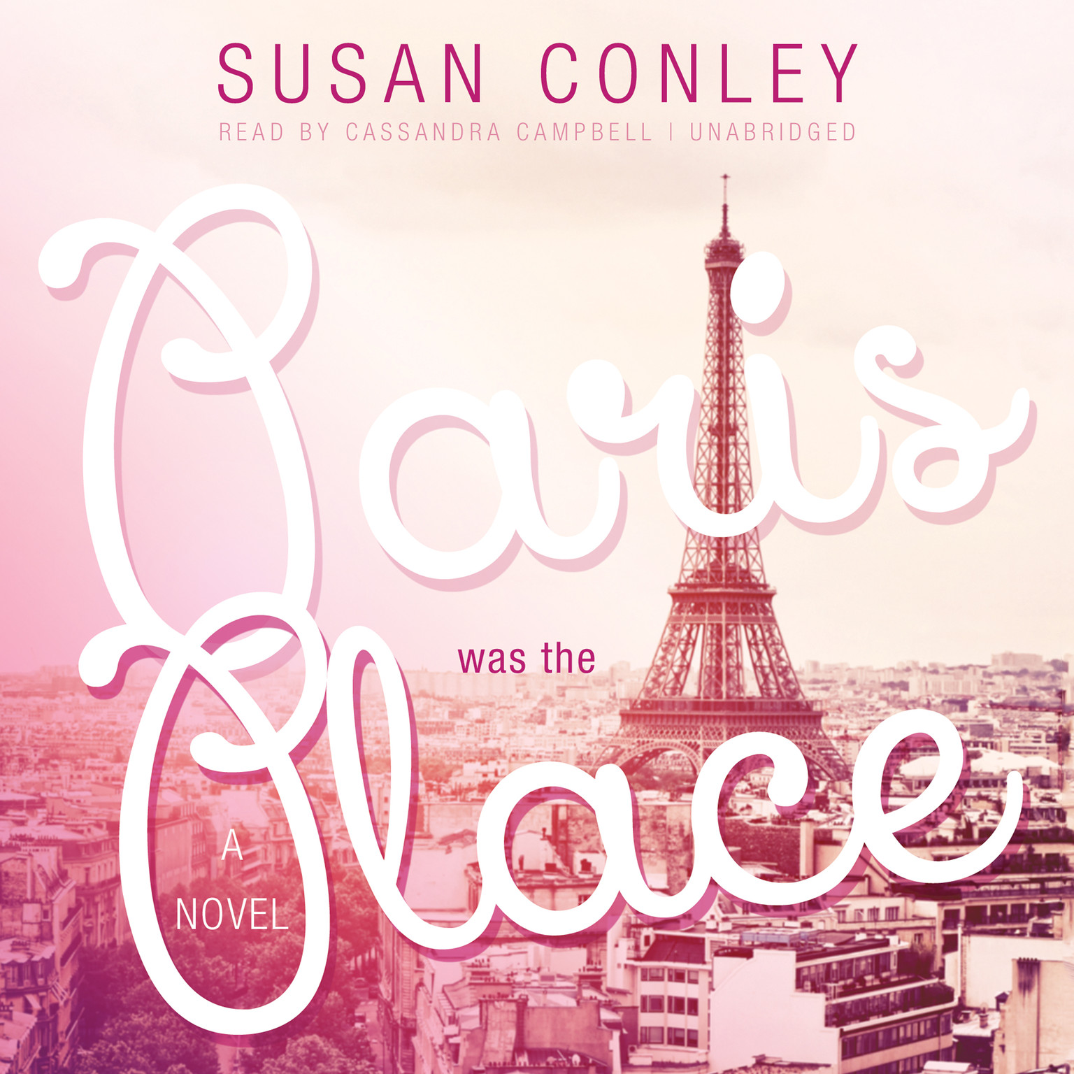 Printable Paris Was the Place Audiobook Cover Art